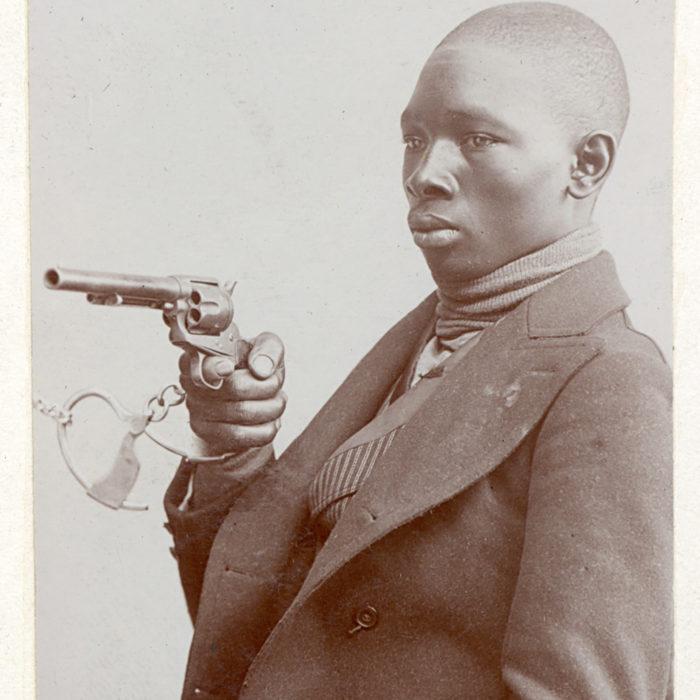 Andrew Johnson alias Peewee. Age 21. Crime: Murder 2nd Degree. Arrested: September 7, 1902. Trade: Horseman. Image courtesy of The OPP Museum