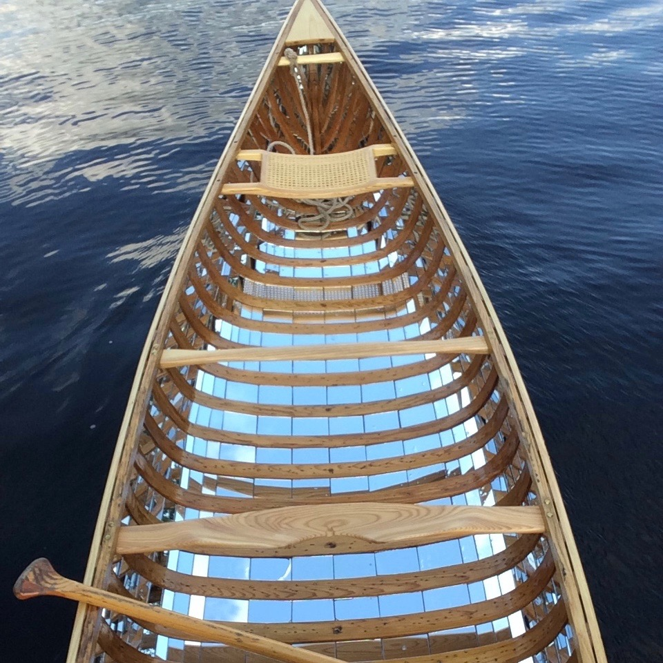 Reflections - The Mirrored Canoe Project by Brad Copping, Artist in Residence, Canadian Canoe Museum.