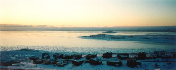 Iqaluit, literally means 'place of many fish'. It sits on the edge of Frobisher Bay and has been used by the Inuit to fish for thousands of years. Photo credit: André Boisvert