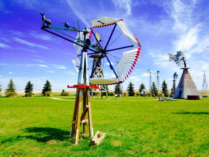 Windmill Collection, Etzikom Museum, Etzikom, Alberta