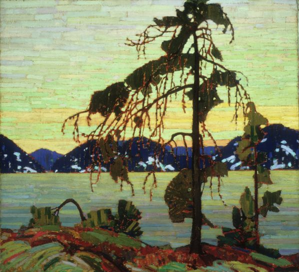 Tom Thompson, The Jack Pine, 1916-1917, Purchased 1918, National Gallery of Canada (no. 1519), Photo © NGC, Ottawa