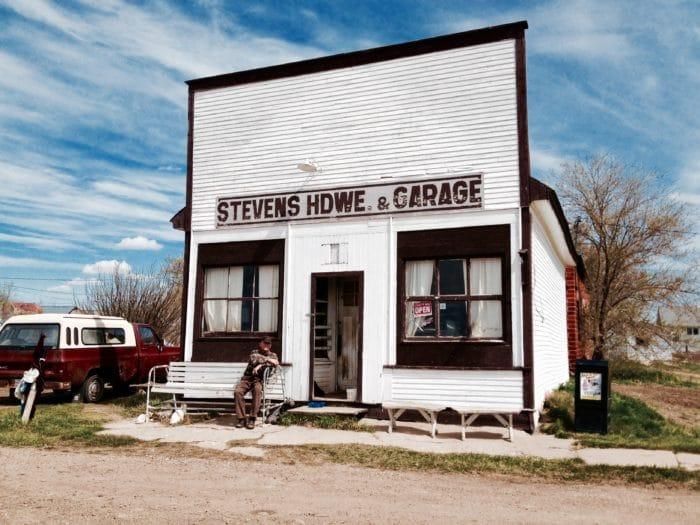 Boyd Stevens, Orion, Alberta