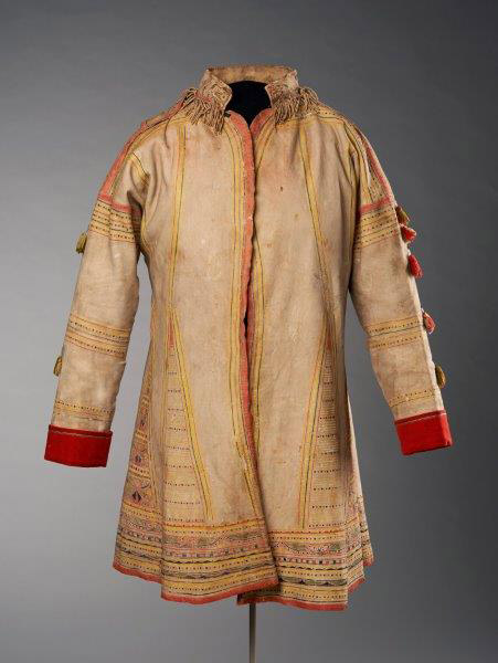 Unknown (Naskapi Artist), Hunting Coat, c. 1840, Purchased 2014, National Gallery of Canada (no. 45973) Photo © NGC