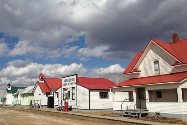 Hanna's Pioneer Village is a wonderful collection of well preserved early 20th century prairie architecture.