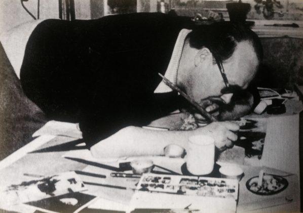 A friend of Bertolt Brecht, Sabina's grandfather artist Günther Strupp was a major influence on Sakoh's political and artistic development.