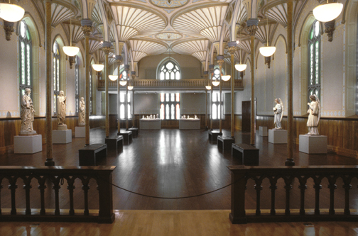 """The redesign is highlighting some of the National Gallery's existing features. """"We are opening up the walls on both sides of the Rideau Chapel so you will see it when you come to the arcade."""" Photo Credit: National Gallery of Canada"""