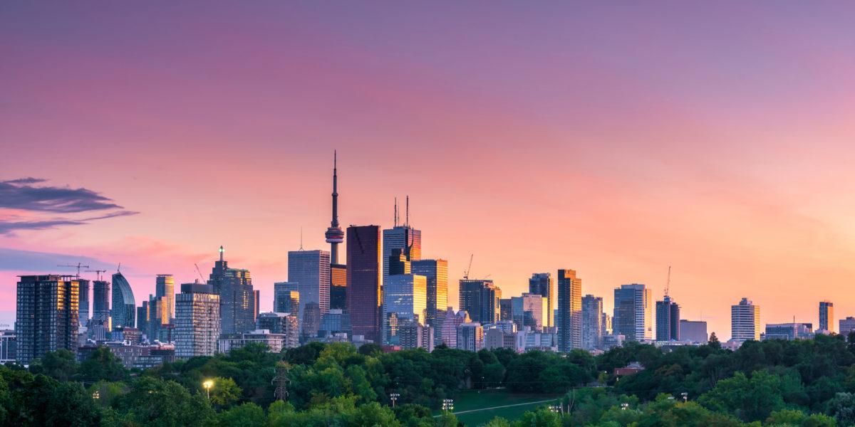 Toronto City Night View